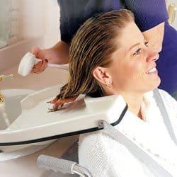 Bac à shampoing plateau